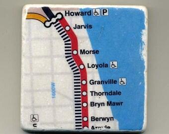 Rogers Park Red Line - Original Coaster