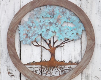 Wonderful Tree Of Life Wall Decor,Tree Of Life Wall Art,Metal Wall Decor,Living Room  Decor,Bedroom Decor,Tree Decor,Rustic Wall Decor