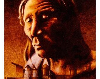 Chief Big Head (Print)