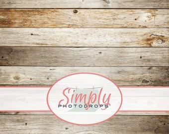 5'x5' Save 40% Today - Vinyl Photography Backdrop, BARN WOOD Photography Backdrop // SimplyPhotodrops Premium Vinyl Backdrop