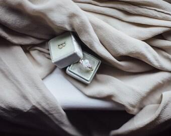 Styling Fabric, Silk Chiffon | handmade, hand dyed | bridal, naturally-dyed, wedding decor, photography, styling details
