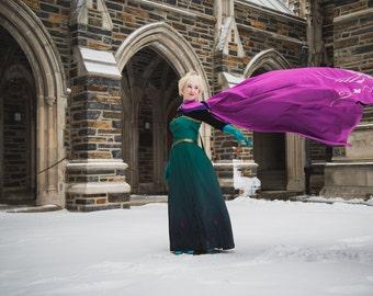 Custom Made, Adult Elsa Coronation Costume, Frozen, Made to Order