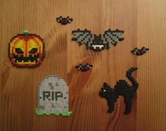 Pixel Art Perler - {Halloween} - decoration for Halloween