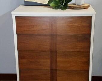 Mid-Century Modern 4 Drawer Dresser