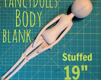 DIY Stoffpuppe Körper Leere gefüllt 19 Zoll