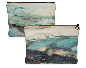 "Carry All Pouch ""Sea Scape"""