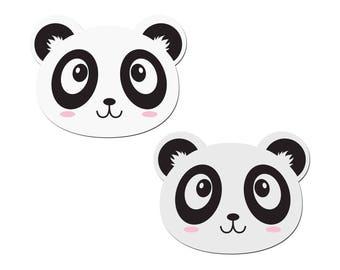 Pasties - White Panda Nipple Pasties by Pastease® o/s