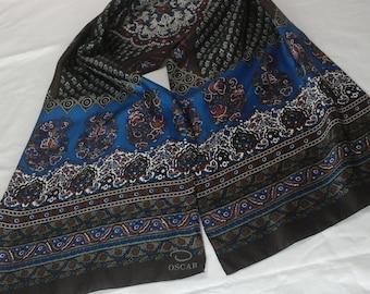 Beautiful designer, Oscar De la Renta  silk scarf.