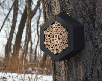 BEE HOTEL, Insect house, Mason bee home - Hotel Blackjack