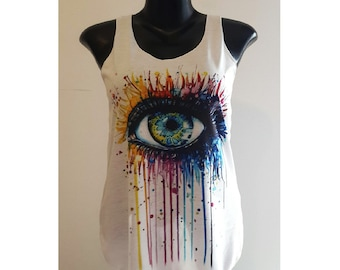 tank top art eye