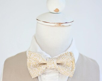 Bow Tie, Bow Ties, Boys Bow Ties, Baby Bow Ties, Bowtie, Bowties, Ring Bearer, Wedding Bow Ties, Rifle Paper Co - Champagne Blush