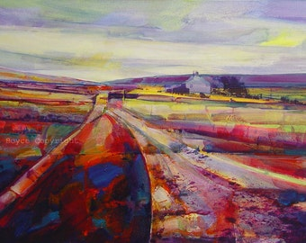 Calderdale Way at Dimmindale, Archival (print size 2)