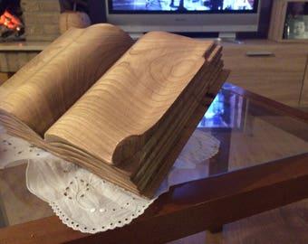 Book in Antique Elm