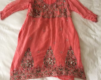 Pink Indian Tunic