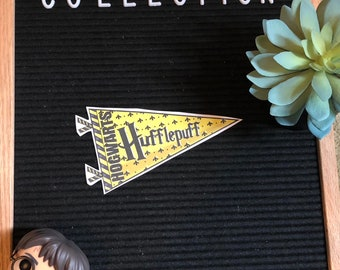 Hufflepuff Banner // Harry Potter Collection 4x6 Sticker