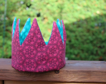 Birthday Parties crown Pretend & dress-up fabric crowns