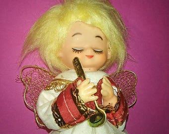 Vintage Billie Idol Wanna Be Angel Tree Topper. New mark down was 11.00  SaLe