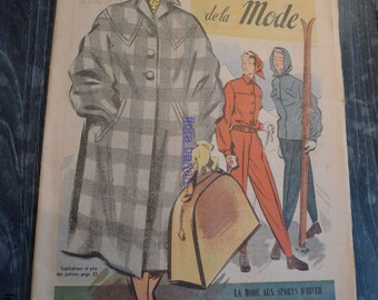 magazine french fashion 30 nov 1952