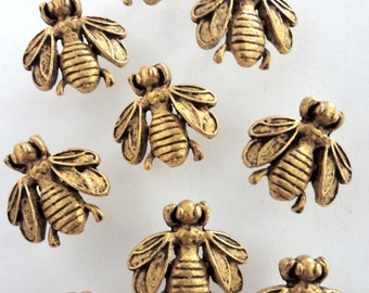 Bumble Bee Push Pin set of 15pc ,** FREE SHIPPING and Usually Ships the Same Day **