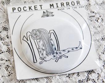 Astrology Pocket Mirrors: Virgo
