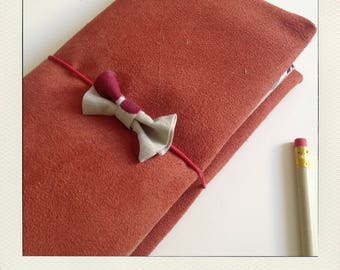 Orange Buldori - Organizer + notebooks - notebook - Bullet journal traveler - fauxdori