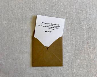 Comparison Bob Goff - mini card
