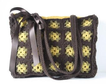 Crochet shoulderbag Brigitte