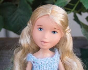 Julie from Grapevine Girls  ( Bratz  makeunder repaint change ooak art dolls with handmade knit doll clothes) Hug a doll, Hug a tree!