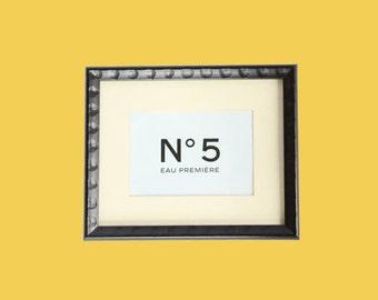 "Chanel No. 5 Framed Ad Wall Art (9"" x 11"")"