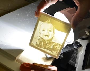 Baby Boy Nightlight | Custom Carving