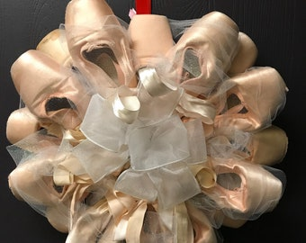 Pointe Shoe Wreath