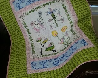 Baby Quilt - Bugs