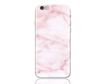 HTC One A9 Case #Pink Marble Cool Design Hard Phone Case
