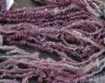 Lock Spun Wensleydale Art Yarn  110 grams