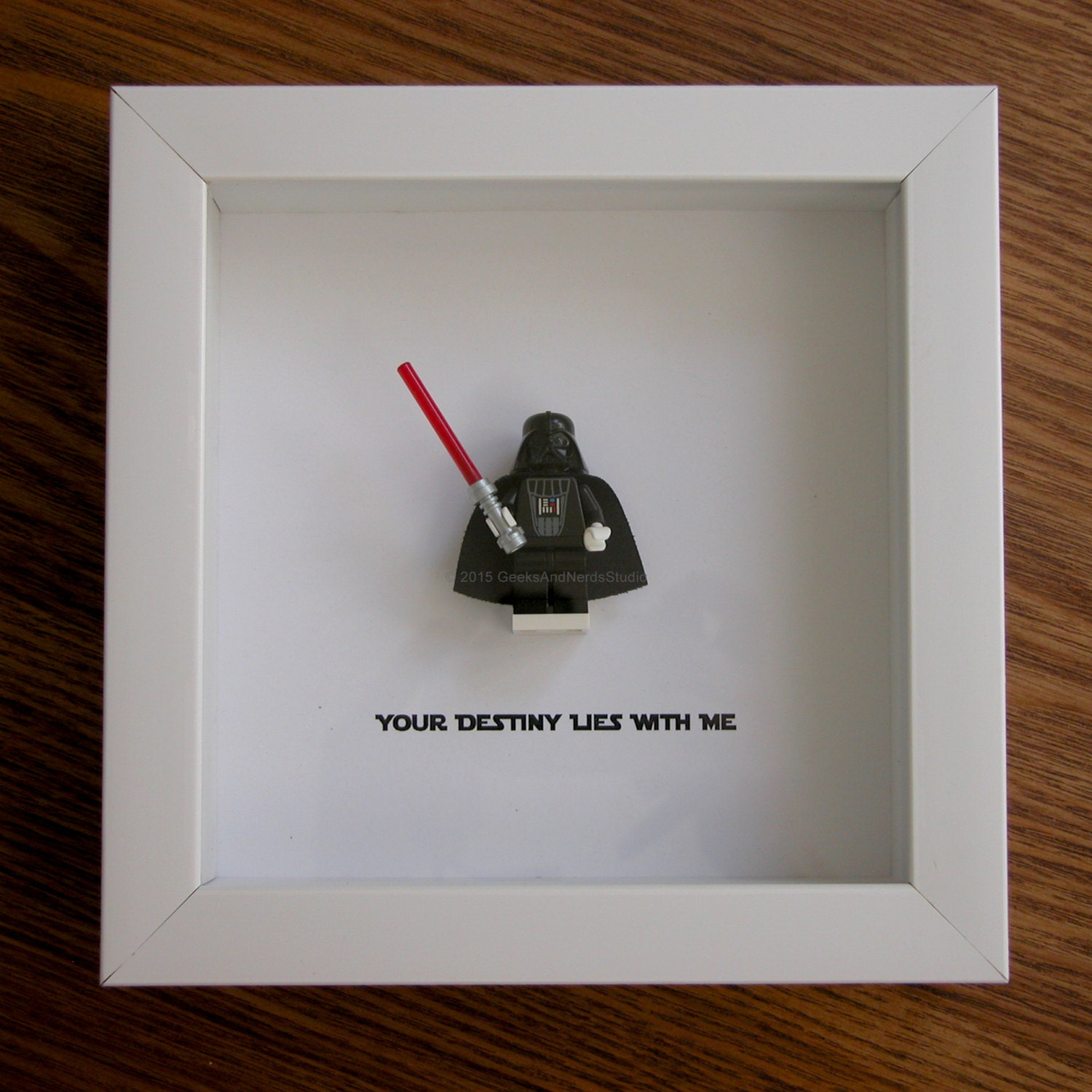 Star Wars Art Framed LEGO Darth Vader LEGO Christmas