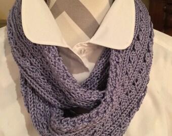 Spring lilac nfinity scarf