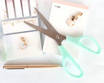 Mint scissors | sewing and crafting scissors | cute scissors