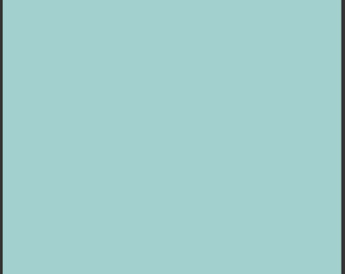 Half Yard Fresh Water - Pure Elements Solid Light Blue Cotton Quilt Fabric - from Art Gallery Fabrics - PE-403 (W498)
