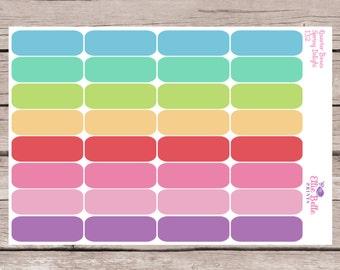 Quarter Box Stickers | Spring Delights | Planner Stickers | Happy Planner, Erin Condren, Plum Planner - 167