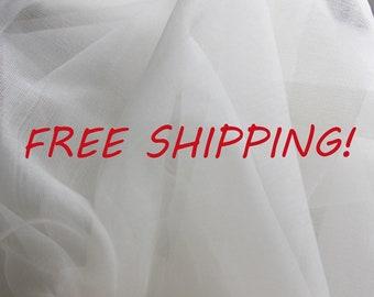 10 m Fabric silk organza, 70 cm, 27 inch