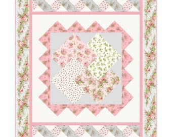 All About Harmony Quilt Kit - by Jan Douglas - Fabric is Heather by Jennifer Bosworth