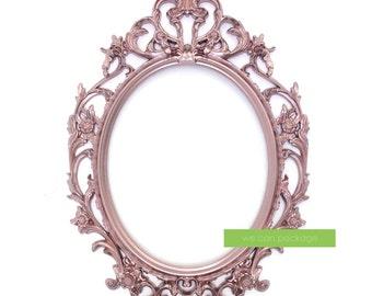 oval picture frames etsy. Black Bedroom Furniture Sets. Home Design Ideas
