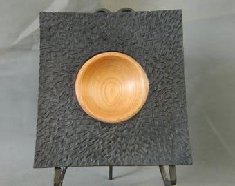 Textured Cherry Bowl / Platter
