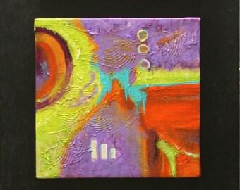 Art, Original Abstract Acrylic Painting  By Maite Tobon- Handmade Artbymaite