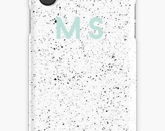 Personalized iPhone 7 Case iPhone 7 plus case iPhone 6s case iPhone X Case Samsung s8 Case Samsung Galaxy Custom Phone Case Paint splatter