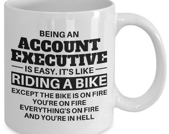 Account Executive, Account Executive Mug, Account Executive Gift, Account Executive Coffee Mug, Mug for Account Executive