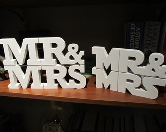 MR & MRS Wedding Table Centerpiece |  starwars wedding mr and mrs mr and mrs sign star wars wedding wedding decoration newlywed gifts