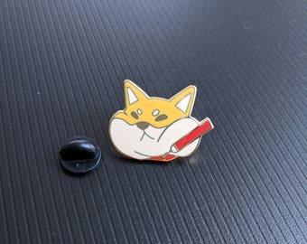 Shiba Inu Hard Enamel Pin