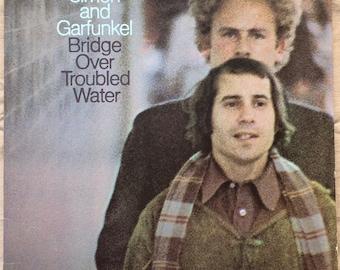Simon and Garfunkel / Bridge Over Troubled Water - Vinyl Record LP Album - Columbia - KCS - 9914 - Pop - Rock - Folk