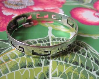 Taxco Sterling Silver Bracelet